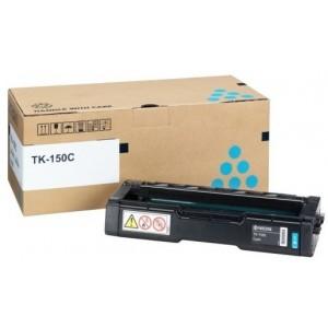 Kyocera TK-150C оригинална синя тонер касета