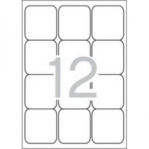 Самозалепващи етикети MULTI 3, 63,5x72 mm