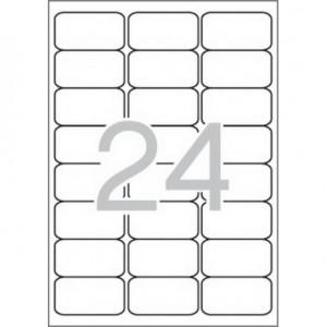 Самозалепващи етикети MULTI 3, 64x33,9 mm