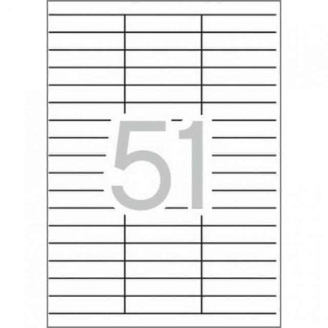 Самозалепващи етикети MULTI 3, 70x16,9 mm