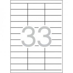 Самозалепващи етикети MULTI 3, 70x25,4 mm