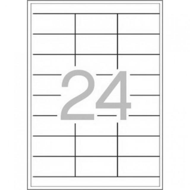 Самозалепващи етикети MULTI 3, 70x36 mm