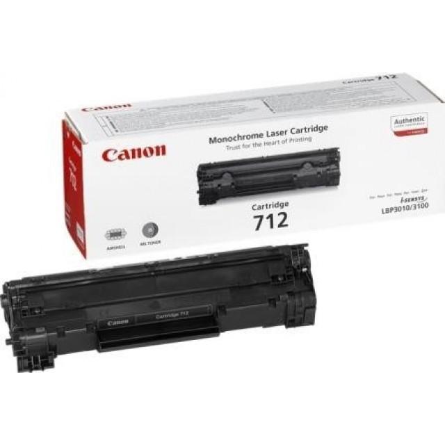 Canon CRG-712 оригинална черна тонер касета