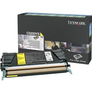 Lexmark C5200YS оригинална жълта тонер касета (Return Program)