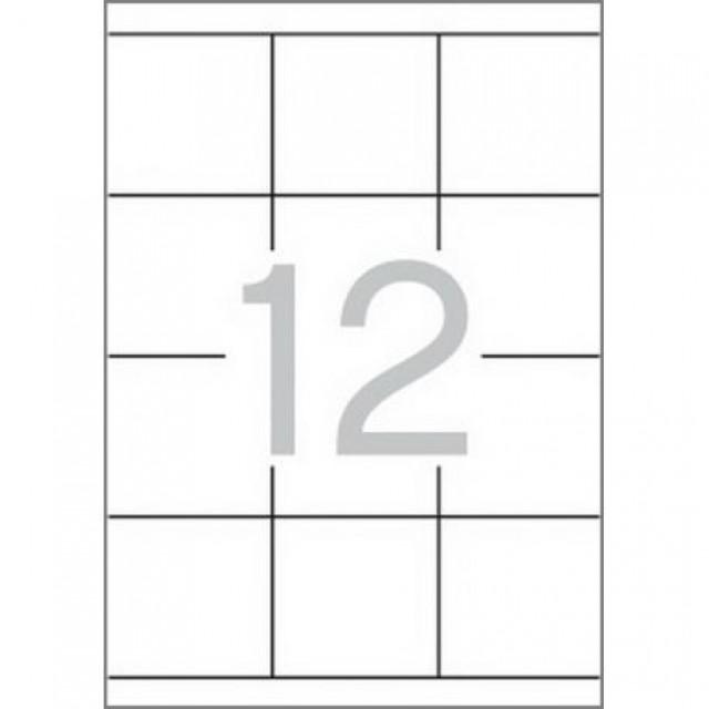 Самозалепващи етикети MULTI 3, 70x67,7 mm