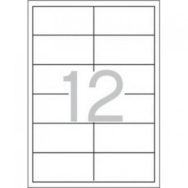 Самозалепващи етикети MULTI 3, 97x42,4 mm