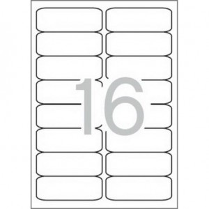 Самозалепващи етикети MULTI 3, 99,1x34 mm