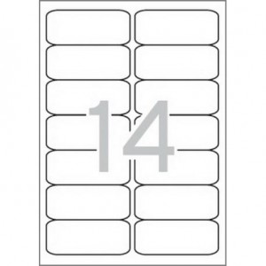 Самозалепващи етикети MULTI 3, 99,1x38,1 mm