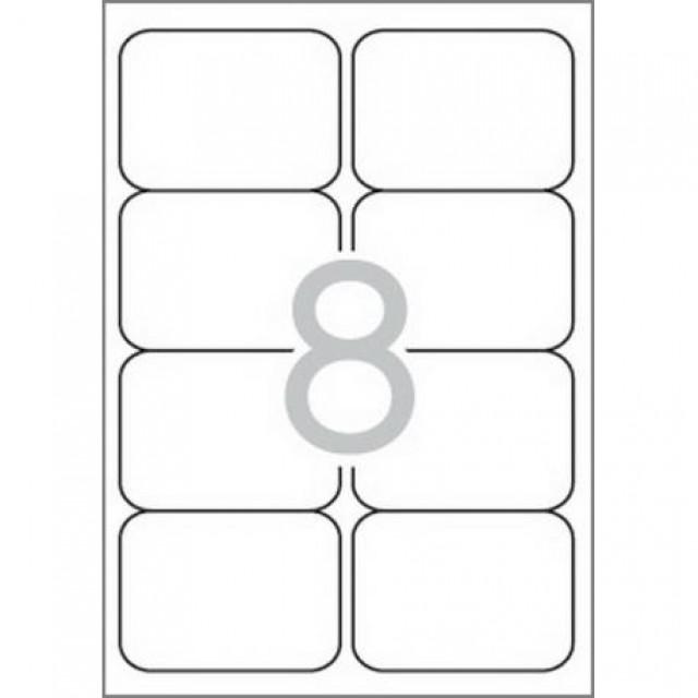 Самозалепващи етикети MULTI 3, 99,1x67,7 mm