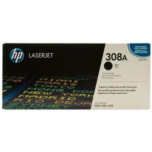 HP Q2670A оригинална черна тонер касета 308A