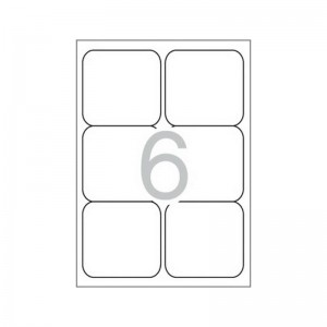 Самозалепващи етикети MULTI 3, 99,1x93,1 mm