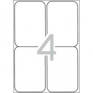 Самозалепващи етикети MULTI 3, 99,1x139 mm