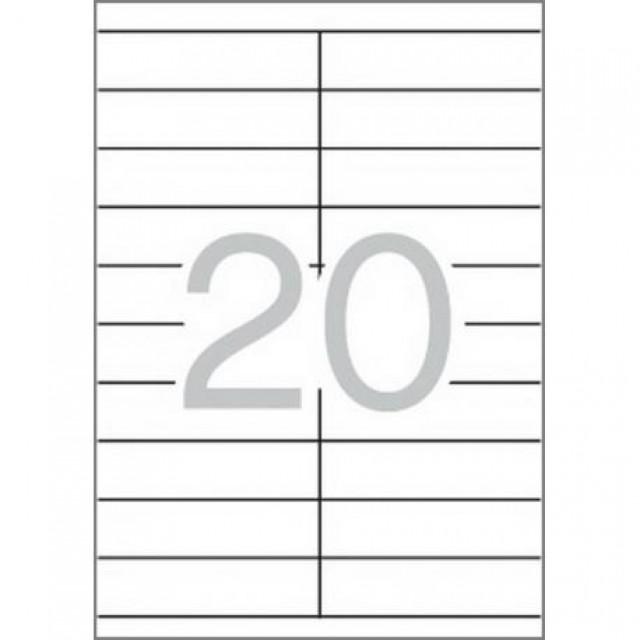 Самозалепващи етикети MULTI 3, 105x29 mm