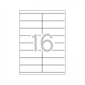 Етикети 105x35 mm, самозалепващи MULTI 3,