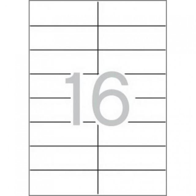 Етикети 105x37 mm, самозалепващи MULTI 3
