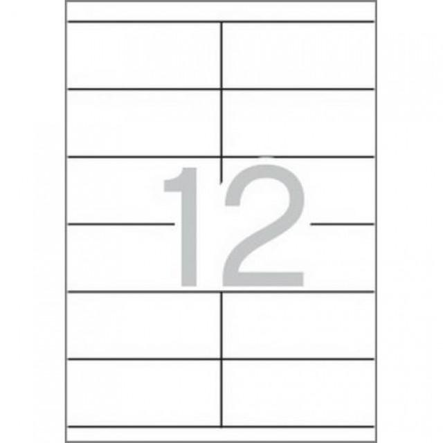 Етикети 105x48 mm, самозалепващи MULTI 3,