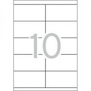 Етикети 105x57 mm, самозалепващи MULTI 3,