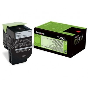 Lexmark 70C20K0 оригинална черна тонер касета (Return Program)