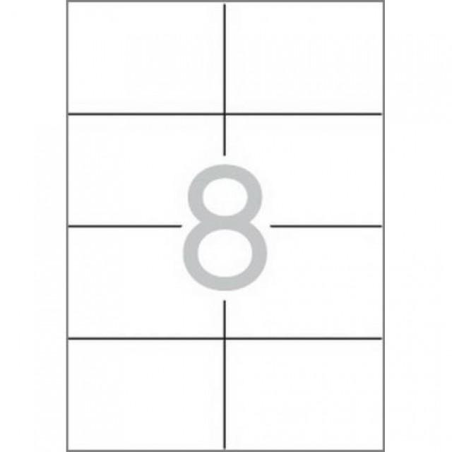 Етикети 105x74 mm, самозалепващи MULTI 3,