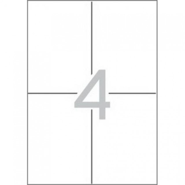 Етикети 105x148 mm, самозалепващи MULTI 3