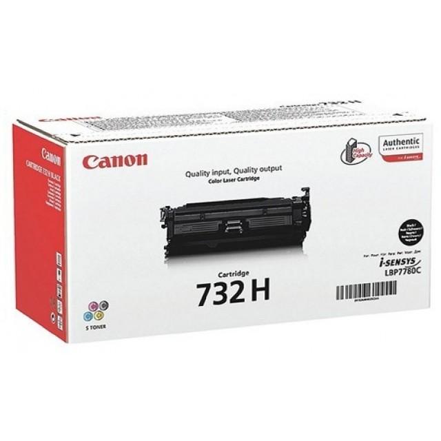 Canon CRG-732H оригинална черна тонер касета