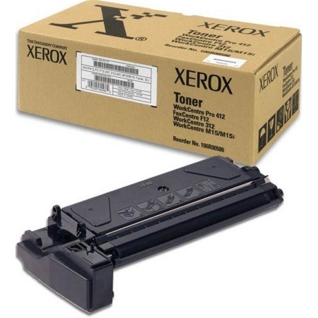 Xerox 106R00586 оригинална черна тонер касета