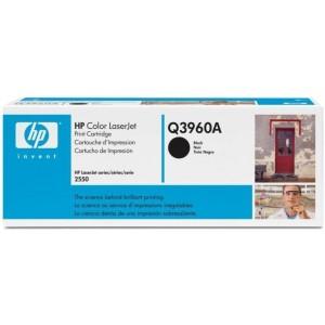 HP Q3960A оригинална черна тонер касета 122A