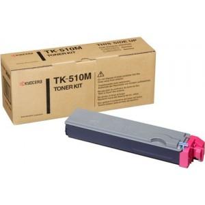 Kyocera TK-510M оригинална червена тонер касета