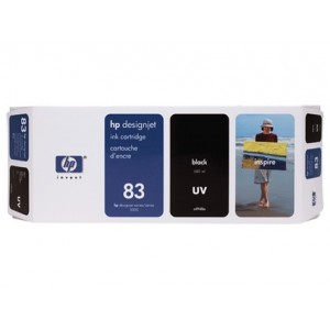 HP C4940A черна UV мастилена касета 83