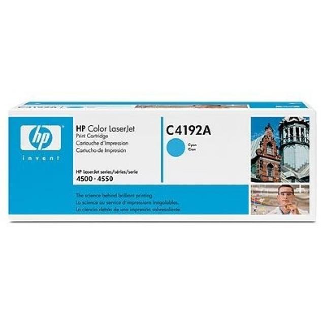 HP C4192A оригинална синя тонер касета