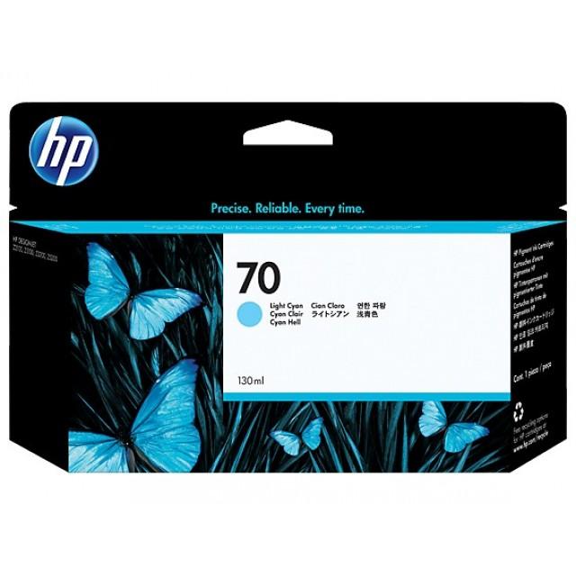 HP C9390A светло синя мастилена касета 70
