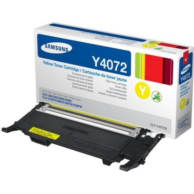 Samsung CLT-Y4072S оригинална жълта тонер касета