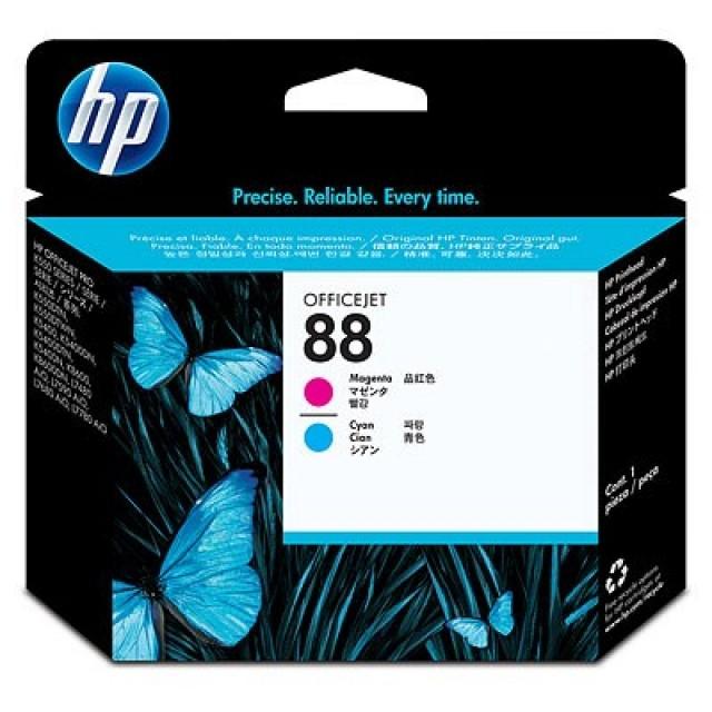 HP C9382A червена и синя печатаща глава 88
