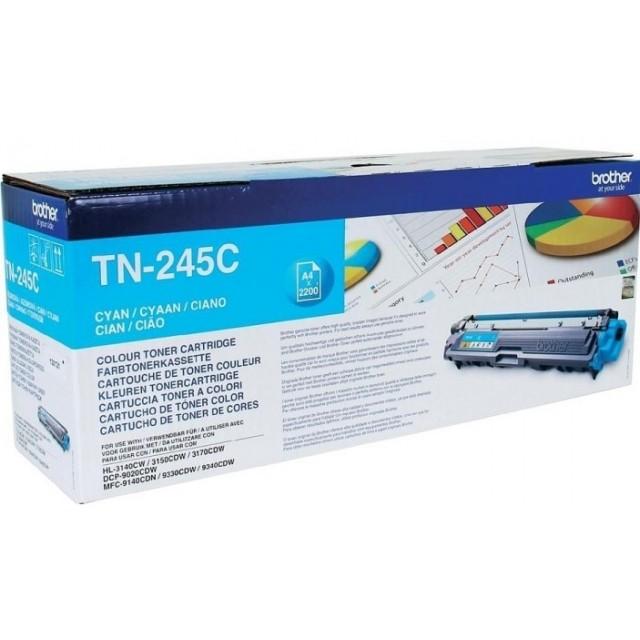 Brother TN-245C оригинална синя тонер касета