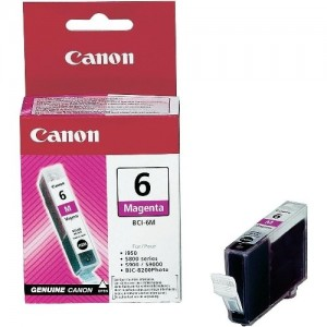 Canon BCI-6M червена мастилена касета