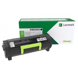 Lexmark 51B2000 оригинална черна тонер касета (Return Program)