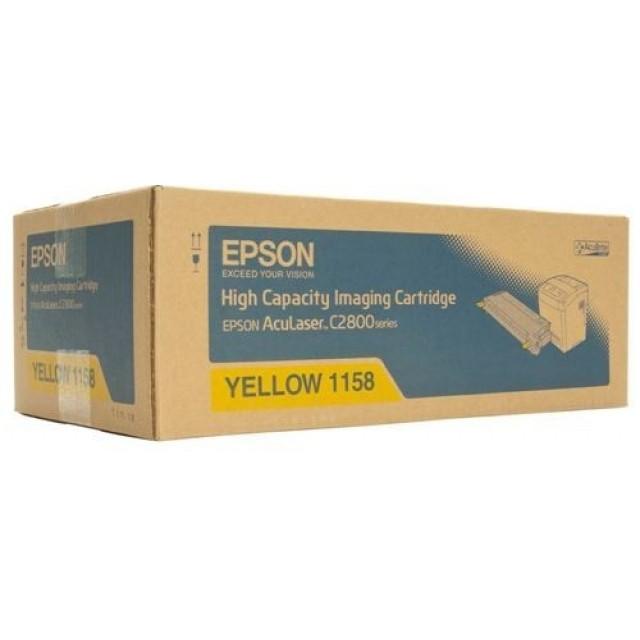 Epson C13S051158 оригинална жълта тонер касета