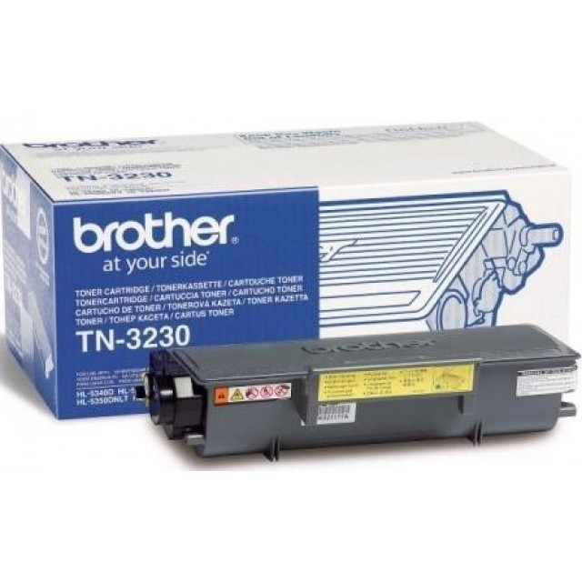 Brother TN-3230 оригинална черна тонер касета
