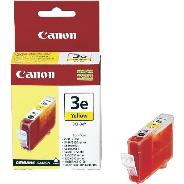 Canon BCI-3еY жълта мастилена касета
