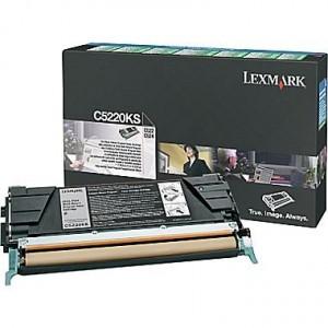 Lexmark C5220KS оригинална черна тонер касета (Return Program)