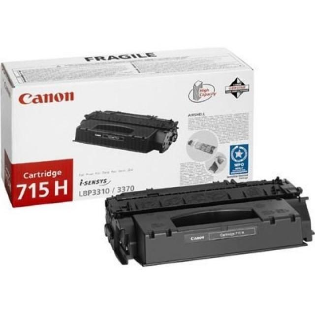 Canon CRG-715H оригинална черна тонер касета