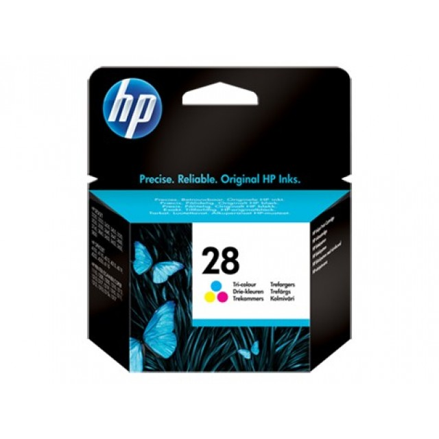 HP C8728AE трицветна мастилена касета 28