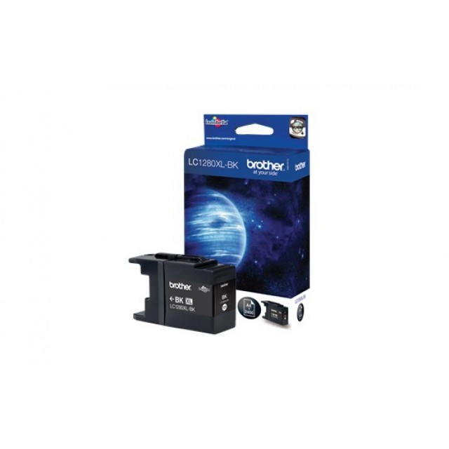 Brother LC-1280XLBK черна мастилена касета