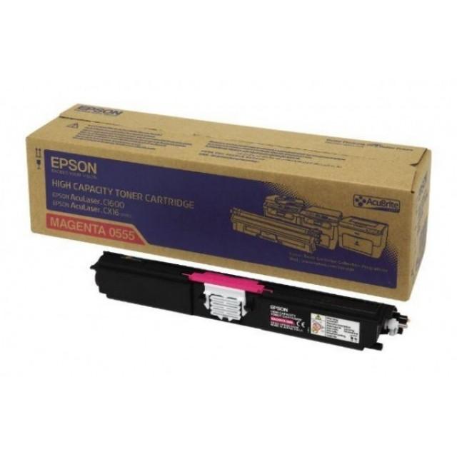 Epson C13S050555 оригинална червена тонер касета