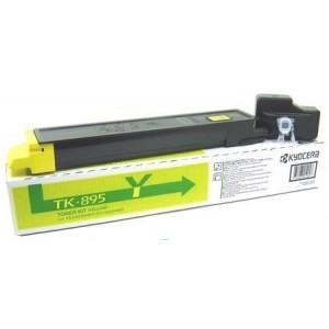 Kyocera TK-895Y оригинална жълта тонер касета