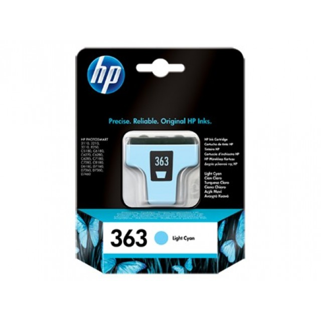HP C8774EE светлосиня мастилена касета 363
