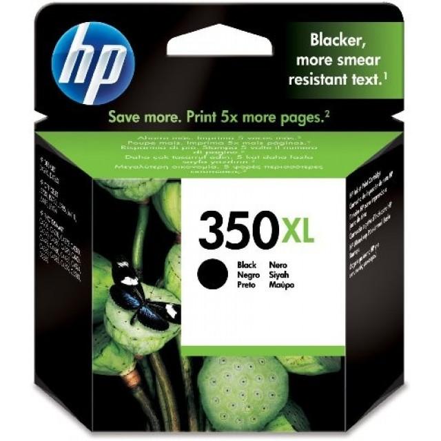 HP CB336EE черна мастилена касета 350XL