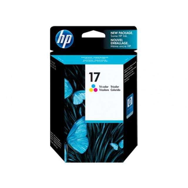 HP C6625A трицветна мастилена касета 17