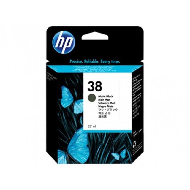 HP C9412A черен мат мастилена касета 38