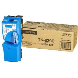 Kyocera TK-820C оригинална синя тонер касета